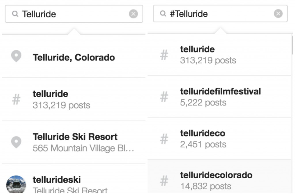 Instagram marketing for travel brands