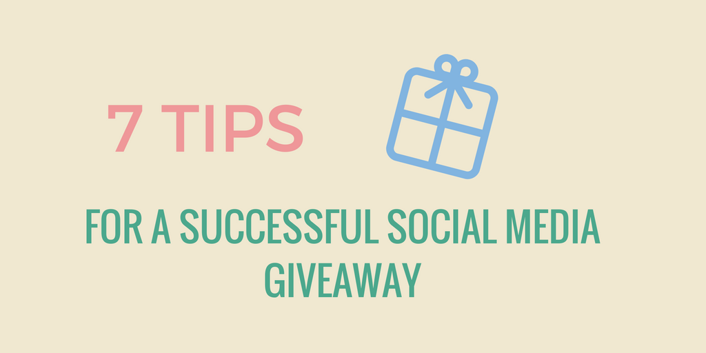 tips for social media giveaways